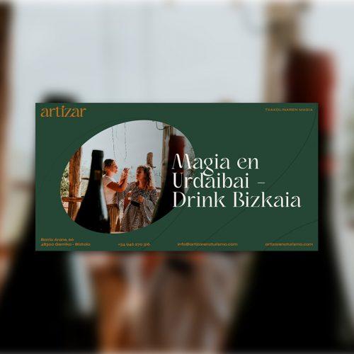 Tarjeta regalo - Magia en Urdaibai - Drink Bizkaia